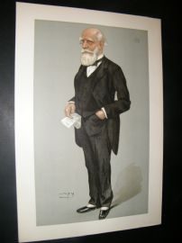 Vanity Fair Print 1900 Lord Strathcona and Mount Royal, Proof